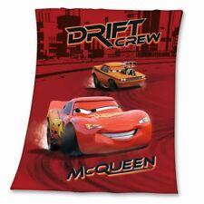 schöne Disney Cars Fleecedecke Kuscheldecke Decke 110x140cm rot Autos