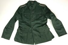 WWII GERMAN HEER & WAFFEN M42 M1942 HBT SUMMER TUNIC- MEDIUM