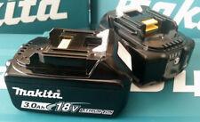 2 Makita BL1830B Batteries Australian 2017 18V 3.0Ah 24m Australia wide warranty