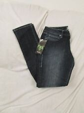 """Ladies """"Rock47"""" Size 31/33, Blue, Ultra Low Rise, Skinny, Distressed Jeans"""
