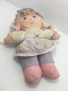 Vintage Holly Mine Stuffed Doll Holly Hobby Cloth Doll