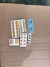 1/32 SCALE WARNING DECALS STICKERS PRE CUT to fit BRITAINS UH SIKU IMPLEMENTS