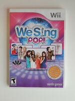 We Sing Pop Game Complete! Nintendo Wii
