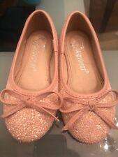 Toddler girl pink glitter sequence shoe size 9/10 New Alovbear