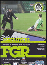 2012/13 FOREST GREEN ROVERS V NUNEATON TOWN 01-12-2012 Blue Square Premier