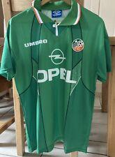 More details for rep of ireland retro home football shirt 1994 medium
