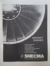 10/73 PUB SNECMA AIRCRAFT ENGINES FORGE FOUNDRY ELECTRONIC NUCLEAR EQUIPMENT AD