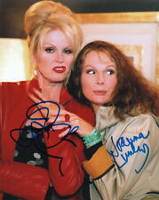 JENNIFER SAUNDERS with JOANNA LUMLEY.. Absolutely Fabulous - SIGNED