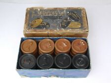 Vintage Chad Valley The 'Services' Set Combined Chess  Draughtsmen Bakelite 1930