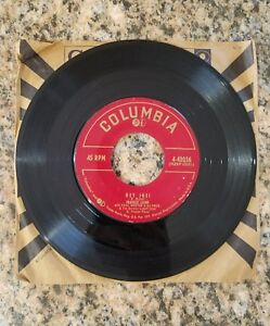 FRANKIE LAINE HEY JOE!/SITTIN' IN THE SUN COLUMBIA RECORDS 45RPM, 1953.