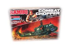 SYLVESTER STALLONES PERSONALLY OWNED MONOGRAM #6038 RAMBO COMBAT CHOPPER SEALED