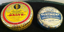 Pair of Antique Rawleighs Ointment-Salve Advertising Tins