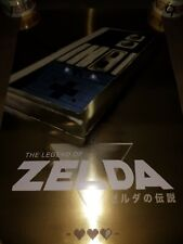 Bottleneck Legend of Zelda NES Poster Willoughby Print Gold Foil Variant