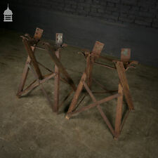 More details for pair of wrought iron victorian barrel stands
