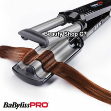 Professional triple curling iron Babyliss Pro Ionic 3D Waver BAB2369TTE