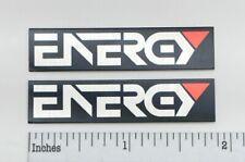 Energy Speaker Badge Logo Emblem Custom Aluminum Pair