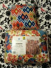 NWT Comfort Bay Full/ Queen Comforter Set New In Package Floral pillow included
