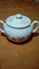 Vintage two handled china pot