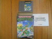 Teenage Mutant hero Turtles / Jeu NES / Complet