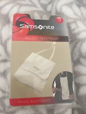 NEW SAMSONITE SECURITY NECK POUCH