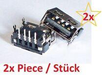 x2 USB Einbaubuchse kurz short Jack Laptop Typ A reverse Acer Aspire 5732ZG 5732
