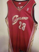 Lebron James Cleveland Cavaliers Authentic Reebok Jersey Size 56