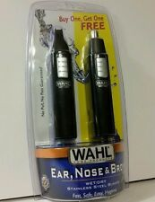 NEW Wahl Ear Nose & Eyebrow Trimmer Wet/Dry BUY ONE GET ONE FREE Model 5567-2308