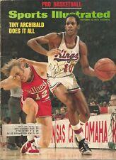 Nate 'Tiny' Archibald Autograph Signed FULL 1973 SI Sports Illustrated Magazine