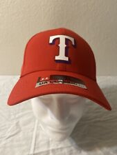 New under armour MLB CAP TEXAS RANGERS UA CLASSIC FIT Adjustable Red T Logo