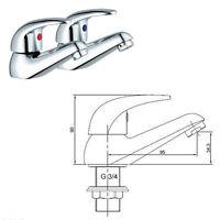 Cherry Chrome Bathroom Tap Set Bath Filler Shower Mixer Mono Basin Taps