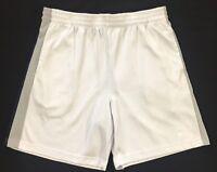 STARTER Men's White Basketball Athletic Shorts Size L Large 36/38