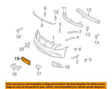 Infiniti OEM 10-13 G37 Sedan w/ Sport Trim-License Plate Bracket 962101NH0A