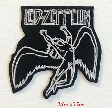 Led Zeppelin Flying Man Logo Music BandEmbroidered Iron on Sew on Patch #1720