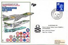 GB -1972 RAF FDC - 21 ANN. HAWKER SIDDLEY HUNTER