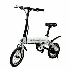 Electric Bike Folding eelo - 40 Miles on a Single Charge - 15 MPH - Lightweight