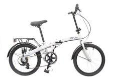 Biciclette pieghevole in argento