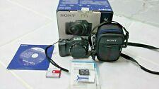 Sony Cyber-shot DSC-H20 10.1MP Digital Camera - Black W/ Battery-Charger-Stick &