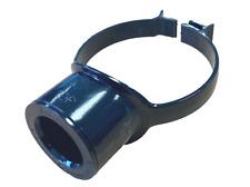 "Black Pipe 110mm - 40mm 43mm Boss Clip Strap Boss 1 1/2"" Glued Solvent Adaptor"