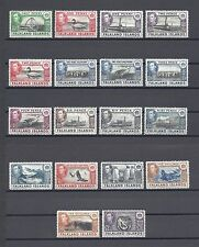 FALKLAND ISLANDS 1938-50 SG 146/63 MINT Cat £475