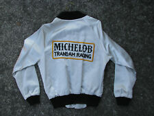 1980s MICHELOB TRANS-AM AUTO RACING JACKET DeAtley Competition Team sm VTG BUICK