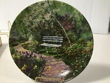 "Connie Smith Porcelain Plate ""The Woodland Garden"" W. S. George Coa w/Orig Box"