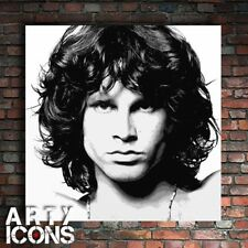 STUNNING HAND PAINTED ARTWORK OF JIM MORRISON THE DOORS - SIGNED BY ARTIST