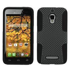 Étuis, housses et coques noir mat pour téléphone mobile et assistant personnel (PDA) Alcatel