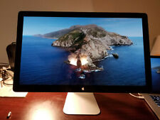 "Apple 27"" Thunderbolt Monitor 16:9 LCD 2560x1440 A1407 A+ condition C02QT3KUF2GC"