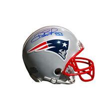 Deion Branch New England Patriots Signed Autographed Patriots Mini Helmet