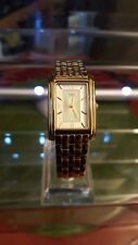 ladies timex gold dress watch, with a gold face elegant dress watch,#b1.