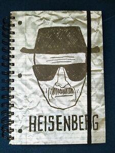 Breaking Bad Sketch A5 Lined Notebook Heisenberg Brian Cranston Walter White