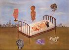 Frida Kahlo Henry Ford Hospital canvas print giclee 8X12&12X17