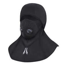 Balaclava Full Face Zipper Mask Cycling Hunting Ski Thermal Winter Sports Cap