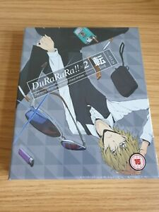 DuRaRaRa X2 Ten Collectors Edition - Blu Ray - Brand New And Sealed Anime